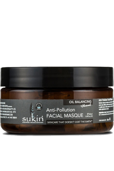 Sukin Natural Charcoal Oil Balancing Anti-Pollution Face Mask