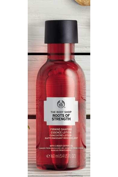 Roots Of Strength- The BodyShop- Firming Essence Lotion 160ml